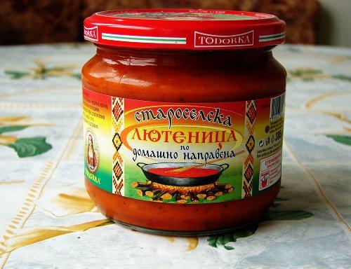 Лютеница Топ 10 продуктов Болгарии